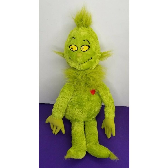 Dr. Seuss Grinch Plush Toy Kohl's Cares For Kids